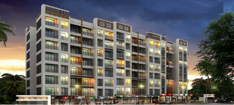 626 sqft, 1 bhk Apartment in Saraswati Meera Park Royale Ambarnath, Mumbai at Rs. 24.0000 Lacs