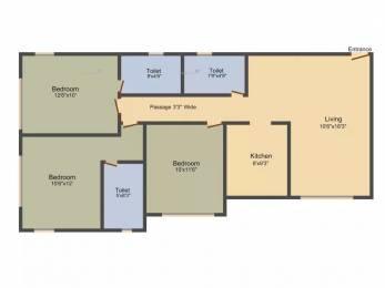 1076 sqft, 3 bhk Apartment in Kukreja Residency Chembur, Mumbai at Rs. 2.5300 Cr
