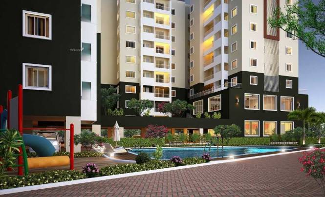 1134 sqft, 2 bhk Apartment in Concorde Spring Meadows Jalahalli, Bangalore at Rs. 59.0000 Lacs