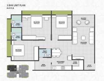 1171 sqft, 3 bhk Apartment in Builder new golden nest phase 15 New Golden Nest Mira Road, Mumbai at Rs. 99.0000 Lacs