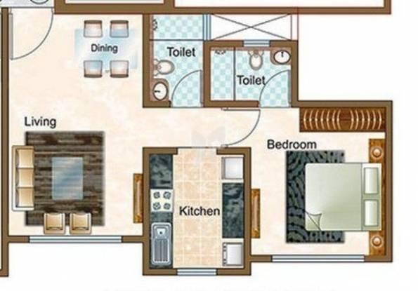 665 sqft, 1 bhk Apartment in Sheth Vasant Oasis Andheri East, Mumbai at Rs. 1.5700 Cr