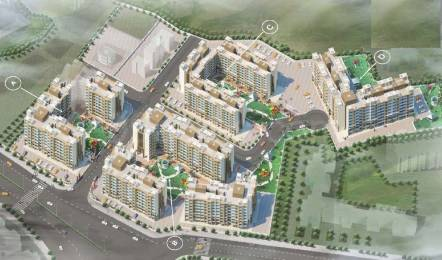 1060 sqft, 2 bhk Apartment in RNA Shree Ram Van Phase II Vasai, Mumbai at Rs. 48.1000 Lacs