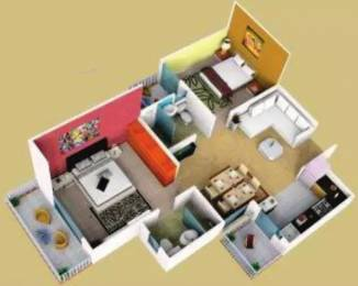 980 sqft, 2 bhk Apartment in Dwarkadhish Casa Romana Sector 22 Dharuhera, Dharuhera at Rs. 45.0000 Lacs