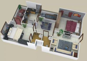1110 sqft, 2 bhk Apartment in Shikhar Balaji Heights Mahalakshmi Nagar, Indore at Rs. 38.0000 Lacs