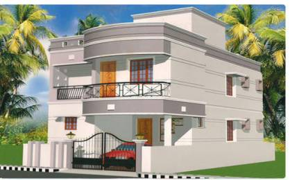 1280 sqft, 2 bhk IndependentHouse in Builder Project Kolathur, Chennai at Rs. 85.0000 Lacs