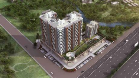 912 sqft, 2 bhk Apartment in Wadhwani Sai Paradise Tathawade, Pune at Rs. 51.0000 Lacs