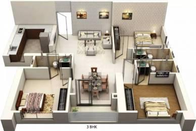 1264 sqft, 3 bhk Apartment in Siddha Seabrook Apartment Kandivali West, Mumbai at Rs. 2.1500 Cr