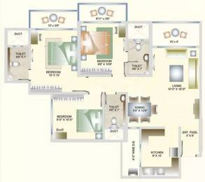 1280 sqft, 3 bhk Apartment in DB Orchid Suburbia Kandivali West, Mumbai at Rs. 2.6500 Cr