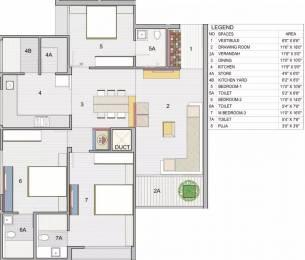 1935 sqft, 3 bhk Apartment in Binori Mable Prahlad Nagar, Ahmedabad at Rs. 1.4040 Cr