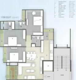 1709 sqft, 3 bhk Apartment in Goyal Orchid Greenfield Shela, Ahmedabad at Rs. 68.0000 Lacs