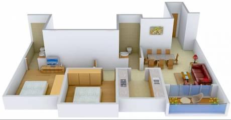 1185 sqft, 2 bhk Apartment in Ideal Ideal Heights Sealdah, Kolkata at Rs. 32000