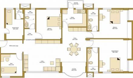 2074 sqft, 3 bhk Apartment in Bengal Peerless Avidipta Mukundapur, Kolkata at Rs. 45000