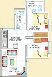 551 sqft, 2 bhk Apartment in Dreams Nivara Uruli Kanchan, Pune at Rs. 15.5000 Lacs