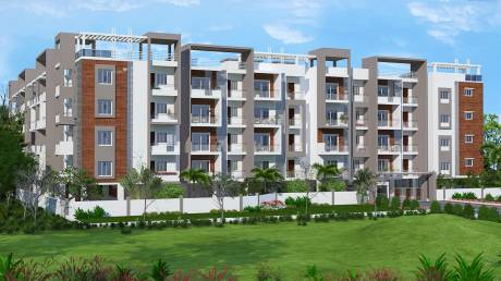 1054 sqft, 2 bhk Apartment in Aashrayaa Eternia Begur, Bangalore at Rs. 37.8386 Lacs