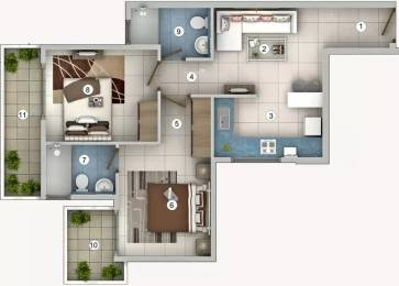 763 sqft, 2 bhk Apartment in Pivotal Riddhi Siddhi Sector 99, Gurgaon at Rs. 20.1130 Lacs