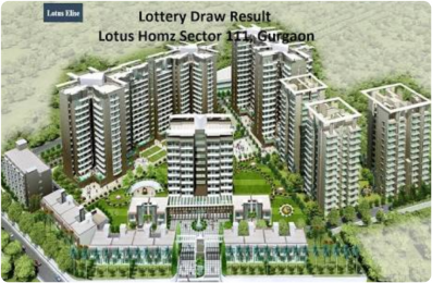 786 sqft, 2 bhk Apartment in Lotus Homz Sector 111, Gurgaon at Rs. 24.0861 Lacs