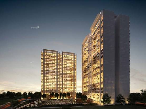 2490 sqft, 3 bhk Apartment in Panchshil Towers Kharadi, Pune at Rs. 1.8500 Cr