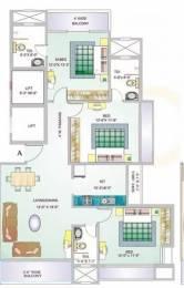 1587 sqft, 3 bhk Apartment in G Corp Bellagio Thane West, Mumbai at Rs. 1.5000 Cr