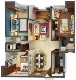 1020 sqft, 3 bhk Apartment in Vedic Swayam City Uttar Gauripur, Kolkata at Rs. 28.3500 Lacs