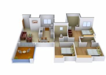 1530 sqft, 3 bhk Apartment in Rachana Bella Casa Sus, Pune at Rs. 21000