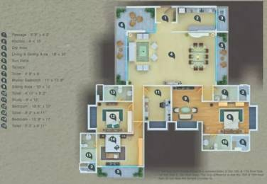 1800 sqft, 3 bhk Apartment in Atul Wallace Fortuna Mazagaon, Mumbai at Rs. 7.2500 Cr