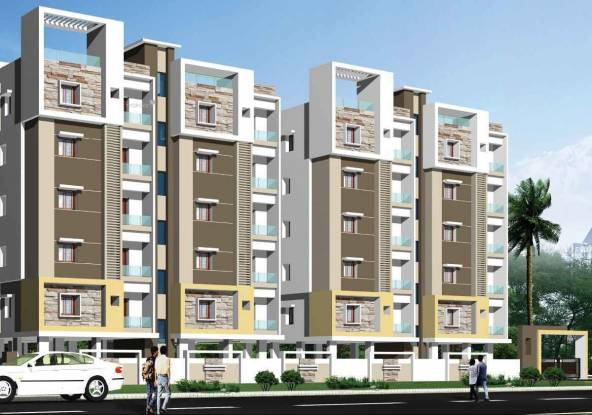 1050 sqft, 2 bhk Apartment in Builder Aashirwad Residency Tagarapuvalasa, Visakhapatnam at Rs. 29.3000 Lacs