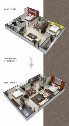 1050 sqft, 2 bhk Apartment in Builder Aashirwad Rewsidency Tagarapuvalasa, Visakhapatnam at Rs. 29.3000 Lacs