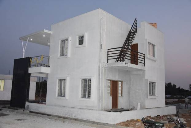 1050 sqft, 2 bhk Villa in Builder Adisesh prime villas Hoskote, Bangalore at Rs. 35.0000 Lacs