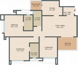 1278 sqft, 3 bhk Apartment in Pride Springfields Subramanyapura, Bangalore at Rs. 67.0000 Lacs