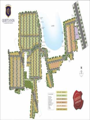 2400 sqft, Plot in Akshaya Estates Quietlands Jigani, Bangalore at Rs. 42.0000 Lacs