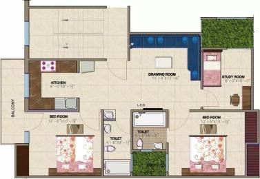 826 sqft, 2 bhk Apartment in RTS Katyani Hill View Pali Village, Faridabad at Rs. 14.5000 Lacs