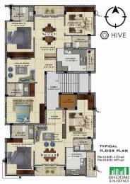 1680 sqft, 3 bhk Apartment in Bhoomi Hive Besant Nagar, Chennai at Rs. 3.0000 Cr
