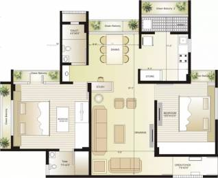 1233 sqft, 2 bhk Apartment in Swagat Flamingo Sargaasan, Gandhinagar at Rs. 15000