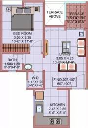 596 sqft, 1 bhk Apartment in Mantra Moments Moshi, Pune at Rs. 25.0000 Lacs