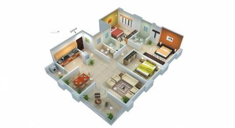 1485 sqft, 3 bhk Apartment in SRI SIRI VIHARI DEVELOPERS Ganadhipa Residency Gannavaram, Vijayawada at Rs. 48.4750 Lacs