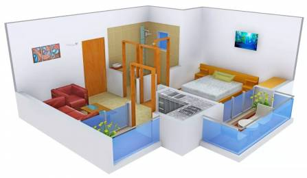 550 sqft, 1 bhk Apartment in The Antriksh Kanball 3G Sector 77, Noida at Rs. 21.0000 Lacs