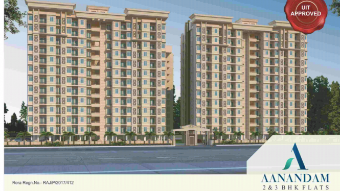 849 sqft, 2 bhk Apartment in Aashish Devaashish City Borkhera, Kota at Rs. 21.0000 Lacs