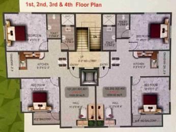 1000 sqft, 2 bhk Apartment in Builder Project Zingabai Takli, Nagpur at Rs. 30.0000 Lacs