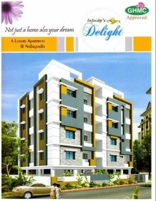 1631 sqft, 3 bhk Apartment in Builder infocity delight nallagandla Nallagandla Gachibowli, Hyderabad at Rs. 60.3100 Lacs