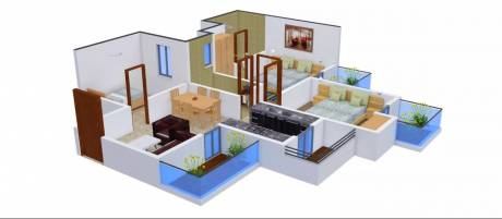 1070 sqft, 2 bhk Apartment in Radicon Vedantam Sector 16C Noida Extension, Greater Noida at Rs. 34.1300 Lacs