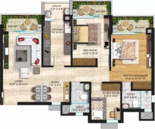1164 sqft, 2 bhk Apartment in Janta Sky Gardens Sector 66, Mohali at Rs. 35000