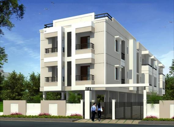 1445 sqft, 3 bhk Apartment in Builder Project Bharathi Nagar, Chennai at Rs. 75.0000 Lacs