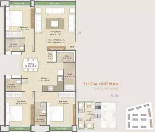 1955 sqft, 3 bhk Apartment in Avadh Copper Stone Dumas, Surat at Rs. 68.4250 Lacs
