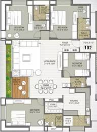 3000 sqft, 4 bhk Apartment in Gokul Platinum Vesu, Surat at Rs. 23000