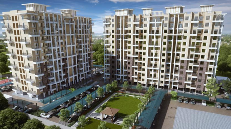 1111 sqft, 2 bhk Apartment in Nyati Elan West I Wagholi, Pune at Rs. 55.0000 Lacs