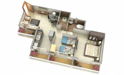 981 sqft, 2 bhk Apartment in Mirador Utsav Phase 1 Asangaon, Mumbai at Rs. 28.3900 Lacs