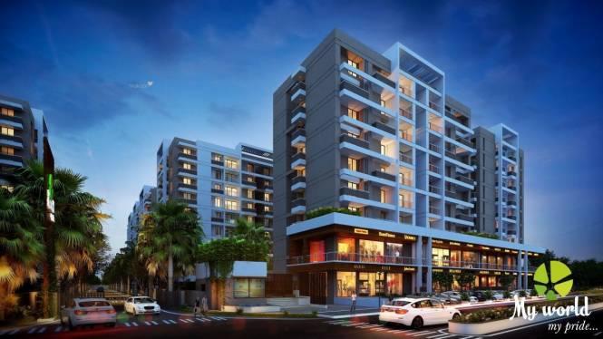 1550 sqft, 3 bhk Apartment in Builder Pride My World Chikalthana, Aurangabad at Rs. 55.0000 Lacs