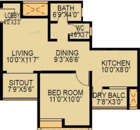 724 sqft, 1 bhk Apartment in F5 Epic Wagholi, Pune at Rs. 32.0000 Lacs