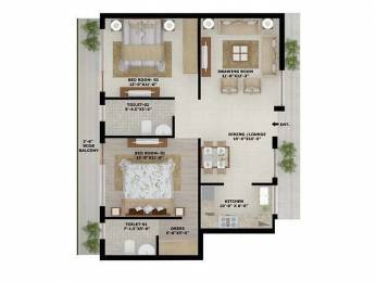 1200 sqft, 2 bhk Apartment in Builder Project NH21, Mohali at Rs. 30.0000 Lacs
