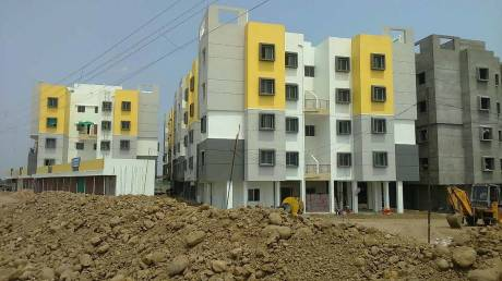 964 sqft, 3 bhk Apartment in Haappyhome Construction Builders Haappy Kasturi Nagar Besa, Nagpur at Rs. 20.0550 Lacs
